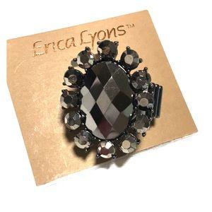 Erica Lyons rhinestone ring